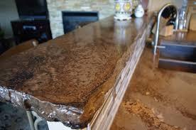 kitchen island rustic kitchen concrete countertop unfinished concrete broken flagstone bar the rustic