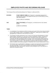 Employee Release Forms - Kleo.beachfix.co