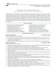 Best Project Manager Resume Mazard Info