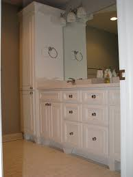 WHO MAKE LINEN CABINET AND VANITYBathroom Linen Cabinets