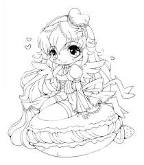 anime chibi colouring pages free coloring pages food girls coloring pages crafts chibi princess coloring pages