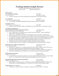 Resume Format For Dance Teacher Resume Template Sample