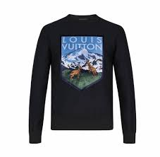 when the weekend calls and time is of the essence louis vuitton s national park sweat shirt is the perfect cotton garment