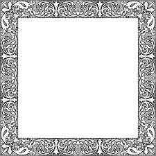 Square Picture Frame Clipart