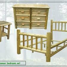 affordable log furniture brilliant log wood bedroom