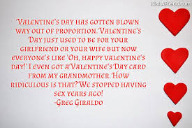 Valentine's Day Has Gotten Blown Way Funny Valentine's Day Quote Enchanting Valentines Day Quotes For Wife
