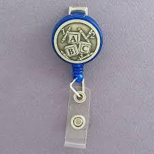 Preschool Teacher Id Badge Holders Kyle Design