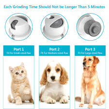 dog nail grinder pet nail trimmer electric nail grinder painless paws grooming shaping tool for dogs cats pets