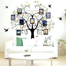 family frames for wall family tree wall decal 9 large photo pictures frames wall vinyl family tree collage wall frame