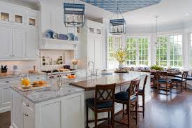 Inspiration for a timeless eat-in kitchen remodel in New York with a  farmhouse sink