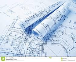 architectural design blueprint. Contemporary Blueprint Popular Architectural Design Blueprint With Part Of Project  Blueprints Rolls On