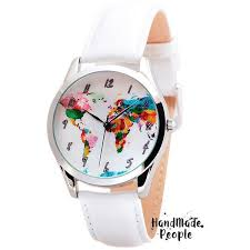 25 best ideas about map watch world watch jewelry map watch watercolor world map unisex watch birthday gifts for best