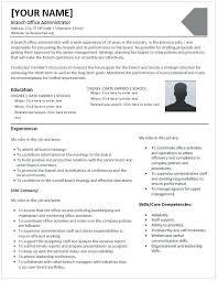 School Administrator Resume New Office Administrator Resume Office Administrator Free Resume Medical