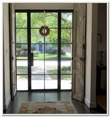 metal front doorsmetal glass doors exterior Front Doors and Entryways  236 x 268