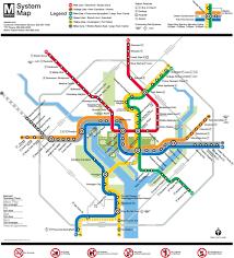 map of metro (subway)