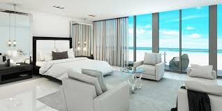 contemporary apartment furniture. Modern Ocean-front Bedroom Contemporary Apartment Furniture E