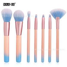 cross maange 7 pink makeup brush sets beauty tools amazon