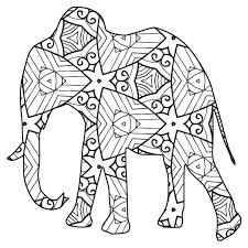 To print the image online, hover over it, then click on the printer icon that appears in the upper right corner. 30 Free Printable Geometric Animal Coloring Pages The Cottage Market