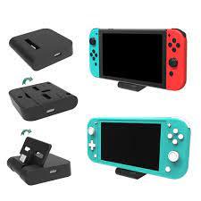Giá đỡ máy chơi game Nintendo Switch Lite cổng nối USB có thể điều chỉnh
