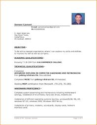 9 Free Download Simple Resume Format In Word Skills Based Resume