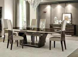 modern kitchen table and chairs. Modern Dining Table Set White Decorations With 8 Chairs Kitchen And