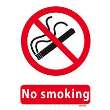 No Smoking Signage No Smoking Safety Sign 340x240mm Officemax Nz