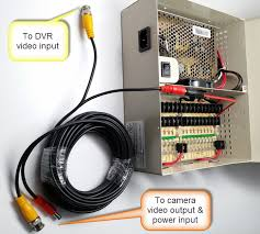 watch more like a cord to connect power wires how to connect a dvr to a security camera using premade cables