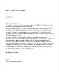 Requesting Letters Of Reference 9 Simple Request Letter Templates Pdf Free Premium Templates