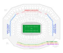 Levis Stadium Seating Chart San Francisco 49ers Suite Rentals Levis Stadium