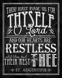 St Augustine Quotes Extraordinary ChalkTypography St Augustine Quote Want To Make Pinterest