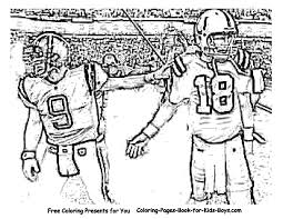 Small Picture Football Coloring Pages Printable Coloring Home