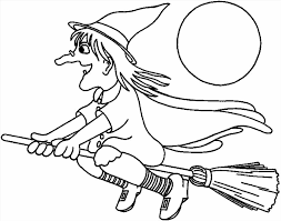 Small Picture Printable Pretty Witch Coloring Page Witch Coloring Page For Kids