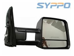 Smoke For 07-17 Toyota Tundra Towing Mirror Power Heated LED ...