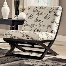 armless accent chairs living room. armless showood accent chair with abstract script fabric chairs living room r