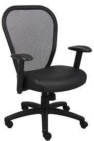 C  White Ergonomic Desk Chair Adjustable Office Best Mesh Good Computer  Chairs Big Small Seating With Seat
