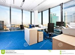 modern business office with panoramic cityscape business office modern