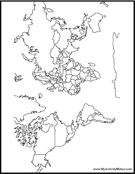 World Map printable of the world du�an �ech on printable form maker