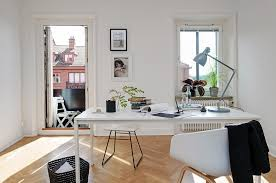 home office style. design ideas of home office in scandinavian style