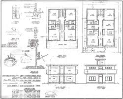 house plan building drawing plan elevation drawing house plans