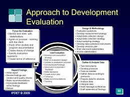 Evaluation Design And Methodology Module 6 Developing Evaluation Questions Starting The