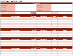 new hire training plan template. New employee training schedule template Employee Training Schedule