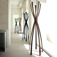 How To Make A Free Standing Coat Rack modern standing coat rack Design Decoration 58