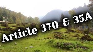 சட்டப்பிரிவு 35-A, 370வது பிரிவு சொல்வது என்ன?
