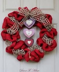 valentine wreaths for your front doorBest 25 Valentine wreath ideas on Pinterest  DIY Valentines