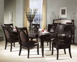... Large size of Contemporary dark brown dining set dark brown wooden  laminate dining chairs dark brown ...