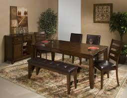 Intercon Kona Solid Mango Wood Dining Table With Butterfly Leaf - All wood dining room sets