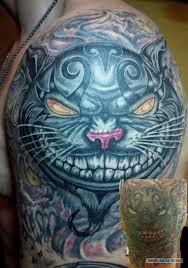 милые кошачьи татуировки с интереснейшими идеями яплакалъ