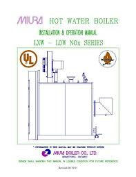 Lxw Engineering And Installation Manual Industrial Heater
