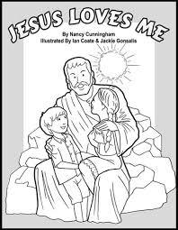 Jesus Loves Me Coloring Book Laymansbookstore Com Free Kids Coloring