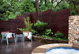 Cozy Build Your Own And Backyard Fence S Get Ideas For Patio Fence Ideas in  Privacy
